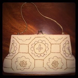 Gorgeous Vintage Beaded Evening Bag